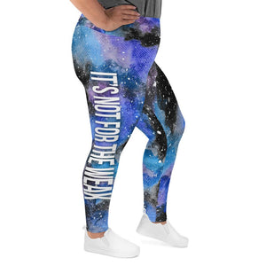 Diabetes Warrior NFTW Black Galaxy Plus Size Leggings