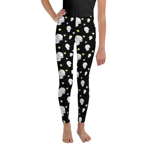 Donny Pattern Youth Leggings - The Unchargeables
