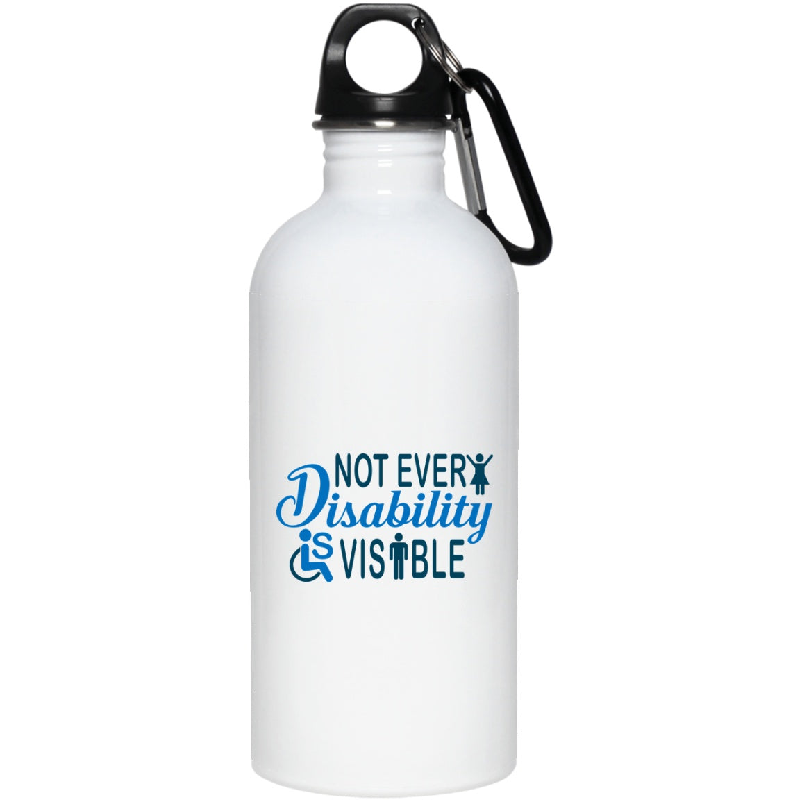 Invisible Disability 20 oz. Water Bottle