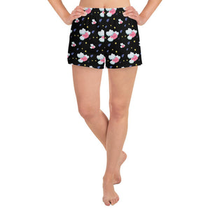 Foggy the Brain Fog Monster Pattern Shorts - The Unchargeables