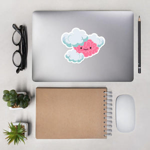 Foggy the Brain Fog Monster Sticker - The Unchargeables