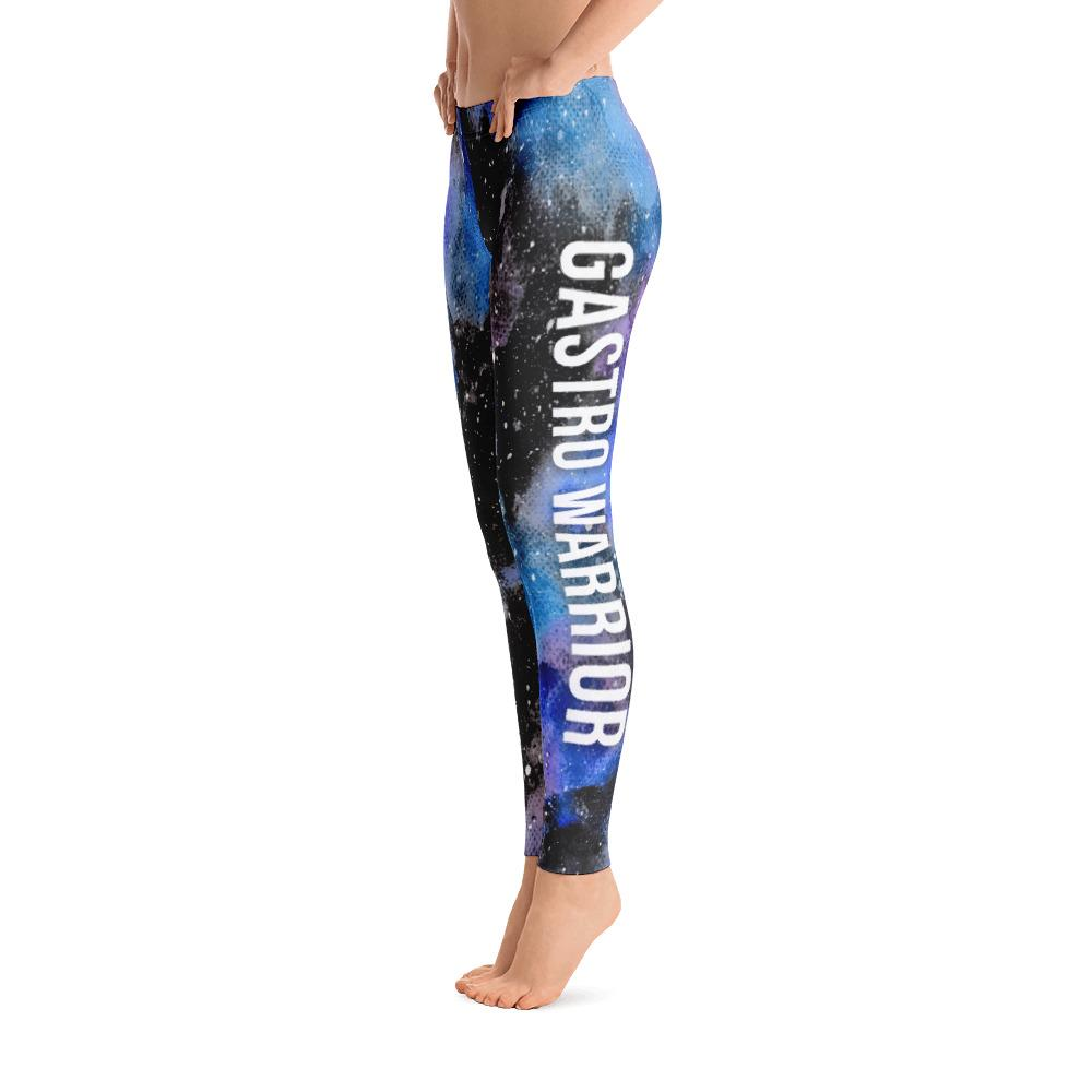 Gastroparesis - Gastro Warrior NFTW Black Galaxy Leggings