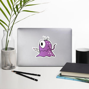 Gia the Fibromyalgia Monster Sticker