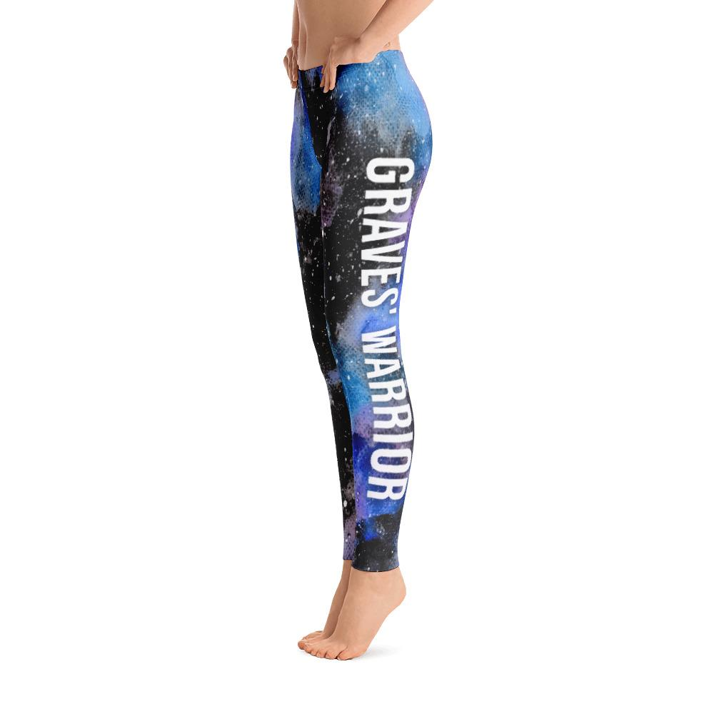 Graves Disease - Graves Warrior NFTW Black Galaxy Leggings - The Unchargeables