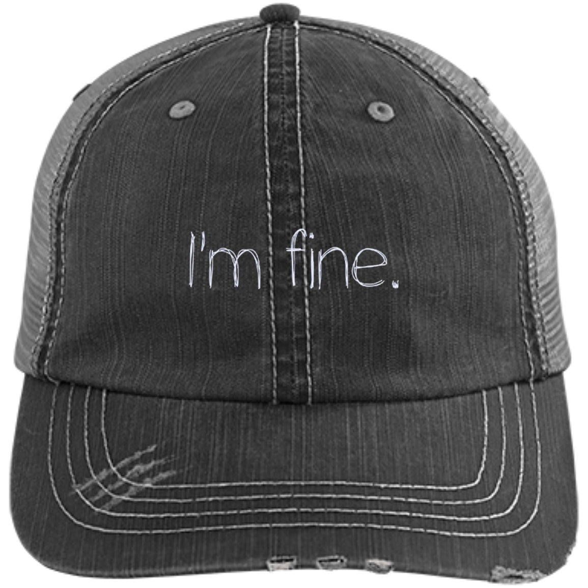 I'm Fine Trucker Cap - The Unchargeables