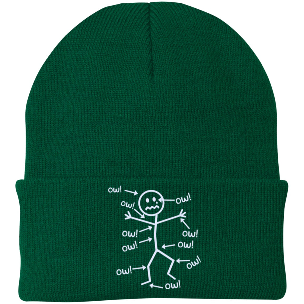 Ow Ow Ow Knit Cap - The Unchargeables