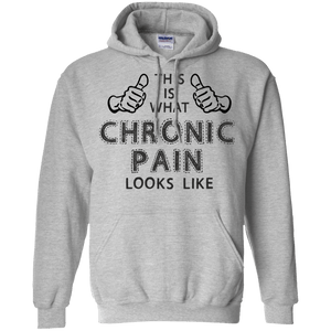 Chronic Pain Looks Like Pullover Hoodie 8 oz - The Unchargeables