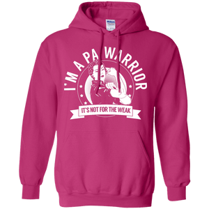 Pernicious Anaemia - PA Warrior Not For The Weak Pullover Hoodie 8 oz - The Unchargeables