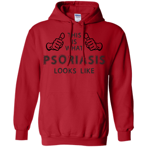 Psoriasis Looks Like Pullover Hoodie 8 oz - The Unchargeables