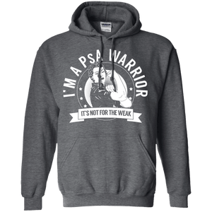 Hoodies - Psoriatic Arthritis - PsA Warrior Not For The Weak Pullover Hoodie 8 Oz