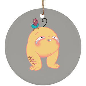 Allergy Monster Circle Ornament - The Unchargeables