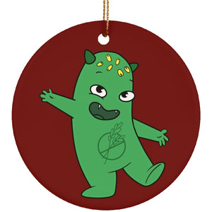 Celiac Disease Monster  Circle Ornament - The Unchargeables