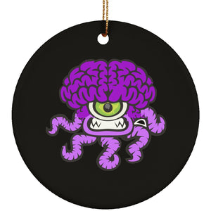 Chiari Malformation Monster Circle Ornament - The Unchargeables