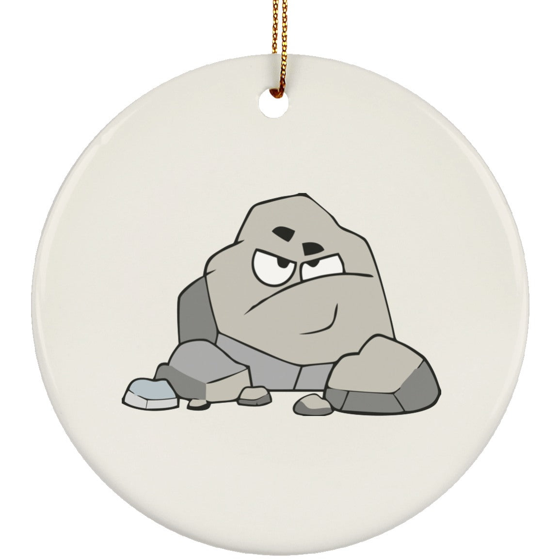 Chronic Kidney Stones Monster Circle Ornament - The Unchargeables