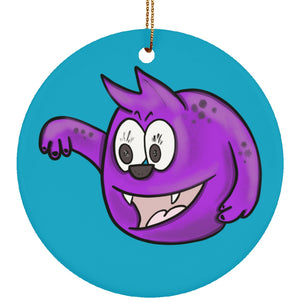 Chronic Pain Monster Circle Ornament - The Unchargeables