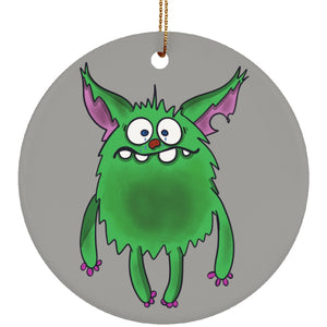 Depression Monster Circle Ornament - The Unchargeables