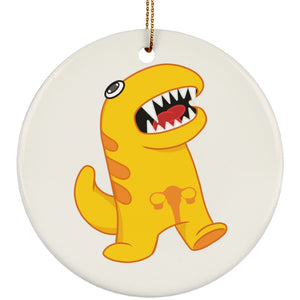 Endometriosis Monster Circle Ornament - The Unchargeables