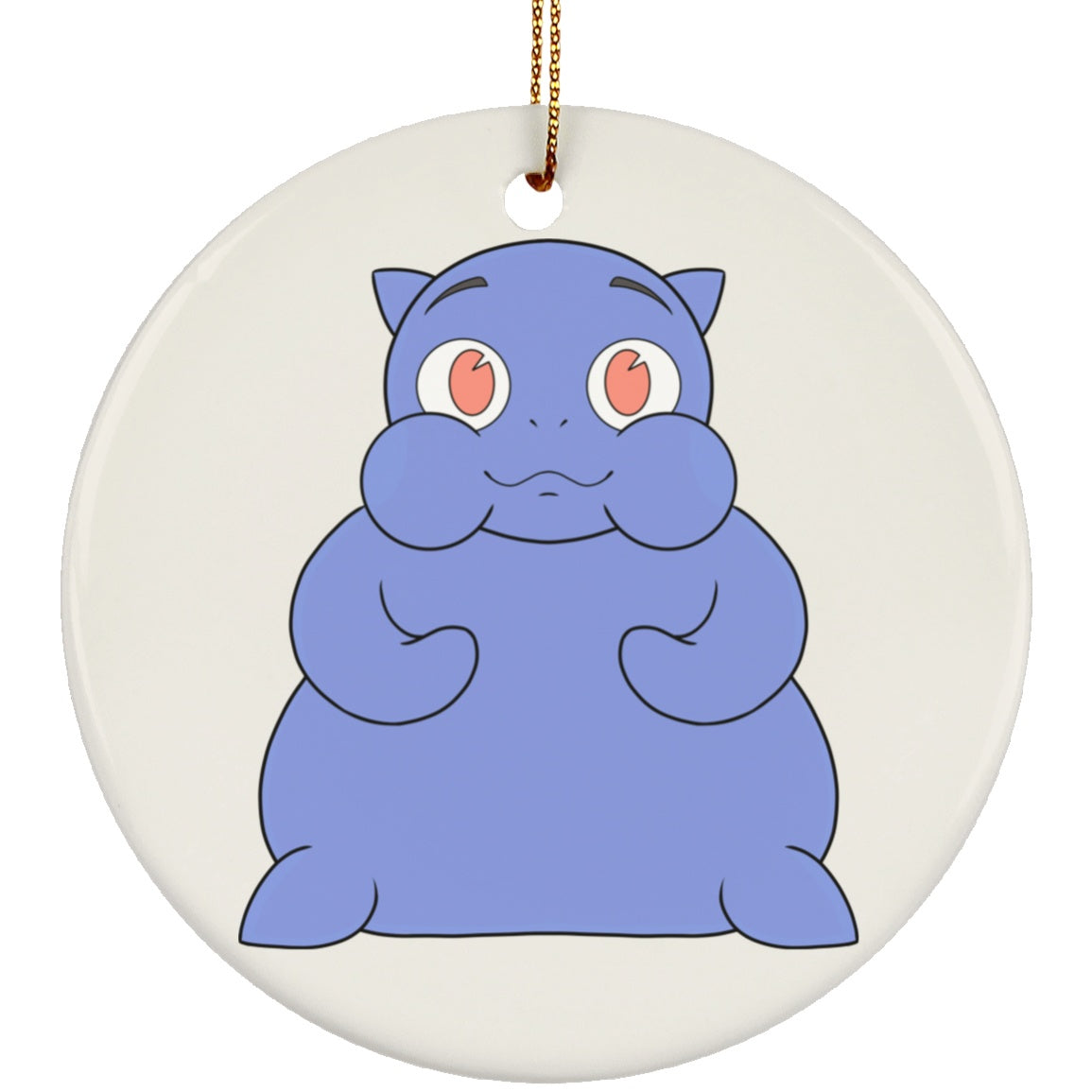 Housewares - Gravey The Graves' Disease Monster Ceramic Circle Ornament