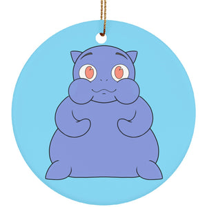 Gravey the Graves' Disease Monster Circle Ornament - The Unchargeables