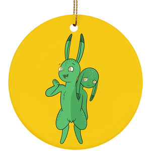 Housewares - Lara The Bipolar Disorder Monter Ceramic Circle Ornament