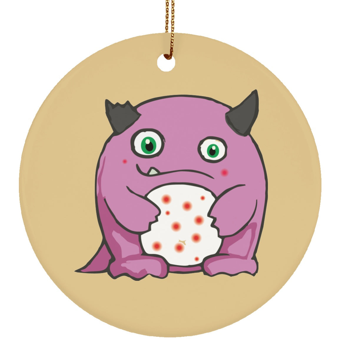 Lupus Monster Circle Ornament - The Unchargeables