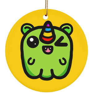 Mimi the Cheeky Demon of Jealousy Circle Ornament - The Unchargeables