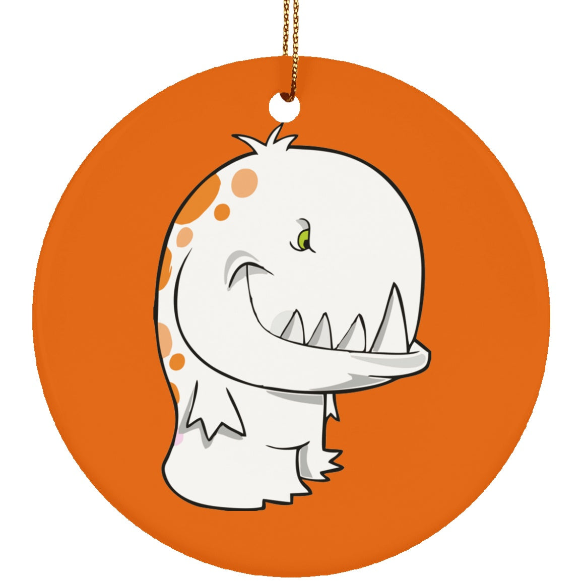Housewares - Multiple Sclerosis Monster Ceramic Circle Ornament