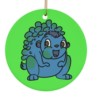 Neurofibromatosis Monster Circle Ornament - The Unchargeables
