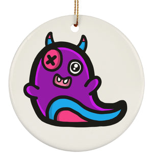 Nono the Cheeky Demon of Fear Circle Ornament - The Unchargeables