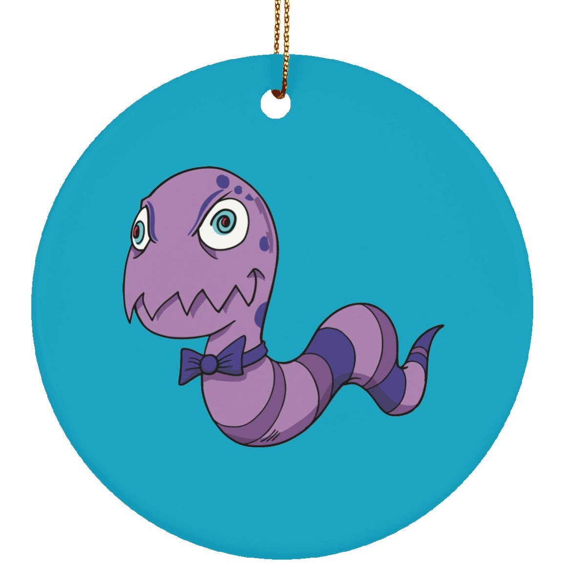 Housewares - Rheumatiod Arthritis Monster Ceramic Circle Ornament