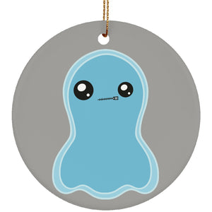 Selective Mutism Disorder Monster Circle Ornament - The Unchargeables