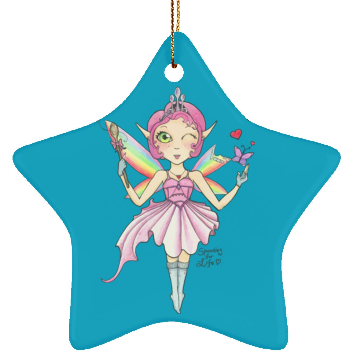 Spoon Fairy Star Ornament - The Unchargeables
