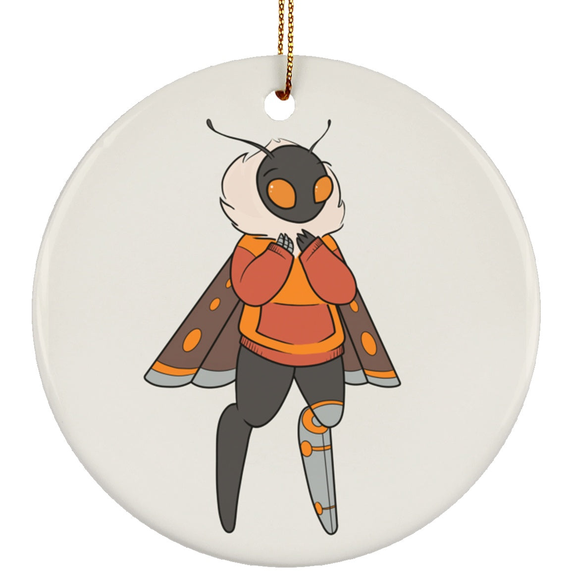 Toni the Amputee Monster Circle Ornament - The Unchargeables