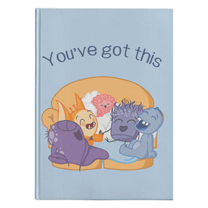 You've Got This Chargimals Journal Hardcover - The Unchargeables