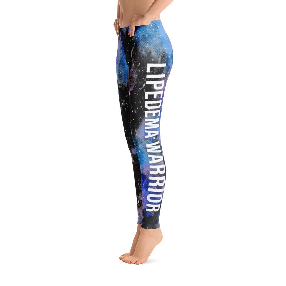 Lipedema Warrior NFTW Black Galaxy Leggings