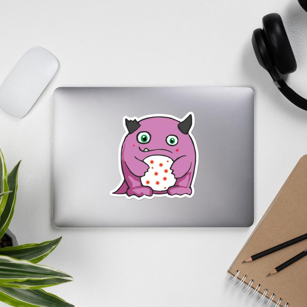 Lupe the Lupus Monster Sticker