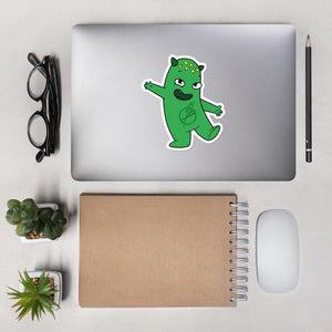 Lutes the Celiac Disease Monster Sticker - The Unchargeables