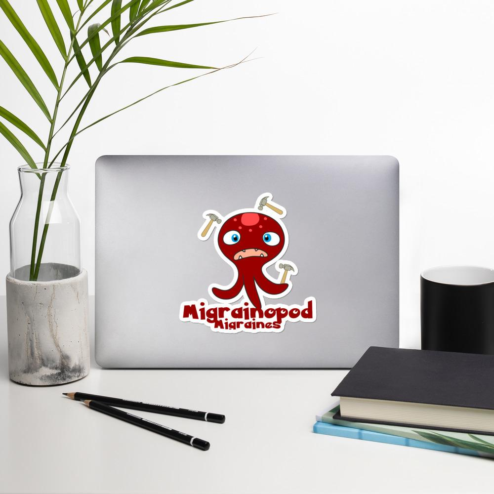 Migrainopod the Migraine Monster Sticker - The Unchargeables