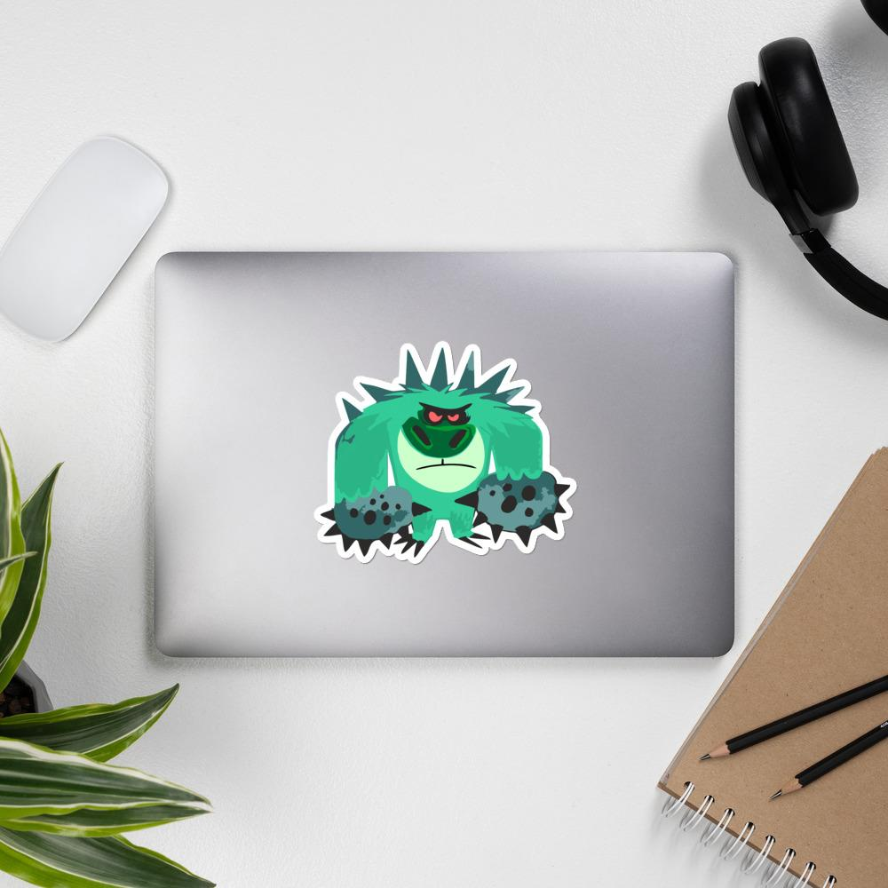 Mr. T the Trigeminal Neuralgia Monster Sticker - The Unchargeables