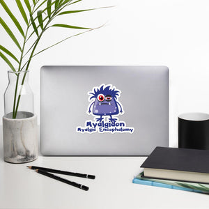 Myalgiadon the ME Monster Sticker - The Unchargeables