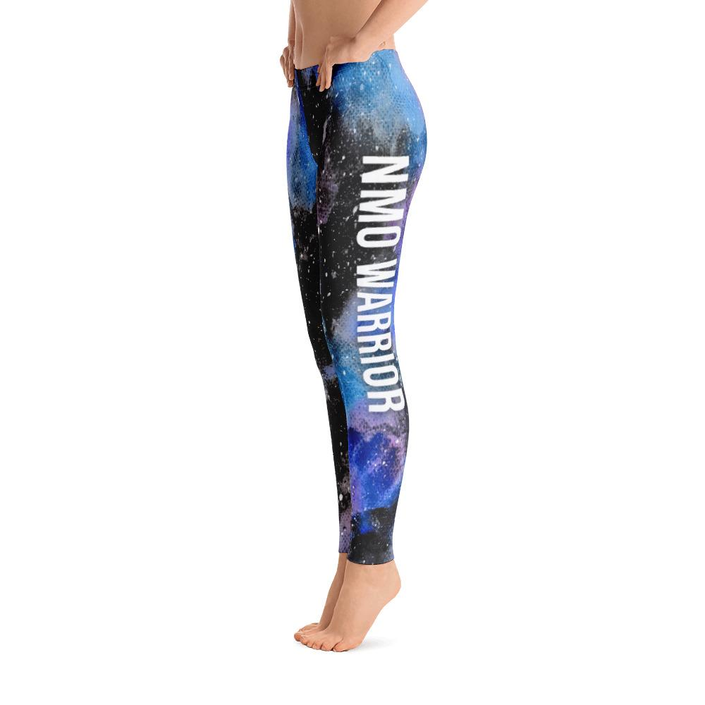 Neuromyelitis Optica - NMO Warrior NFTW Black Galaxy Leggings - The Unchargeables