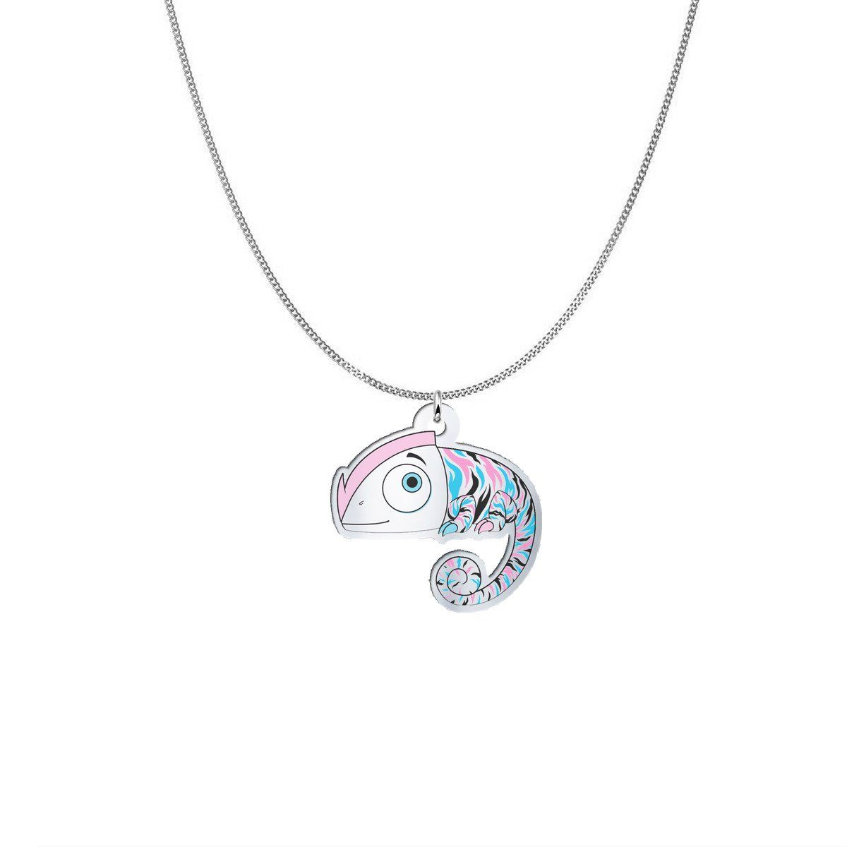 Pendant - Agnes The Undiagnosed Monster Silver Necklace