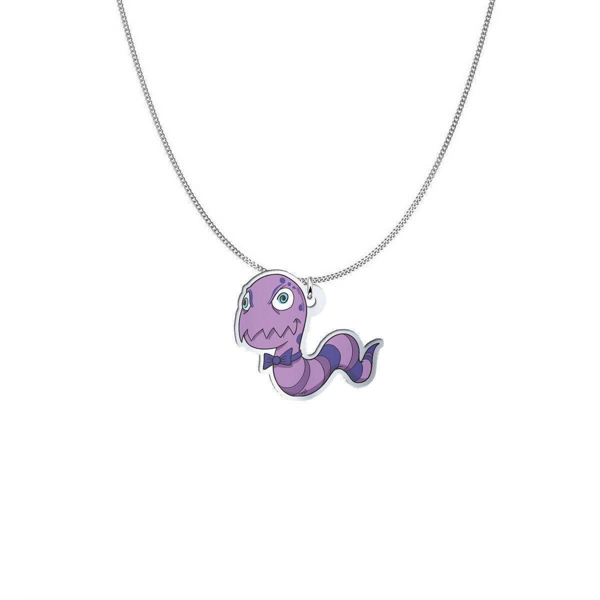 Pendant - Mat The Rheumatoid Arthritis Monster Silver Necklace