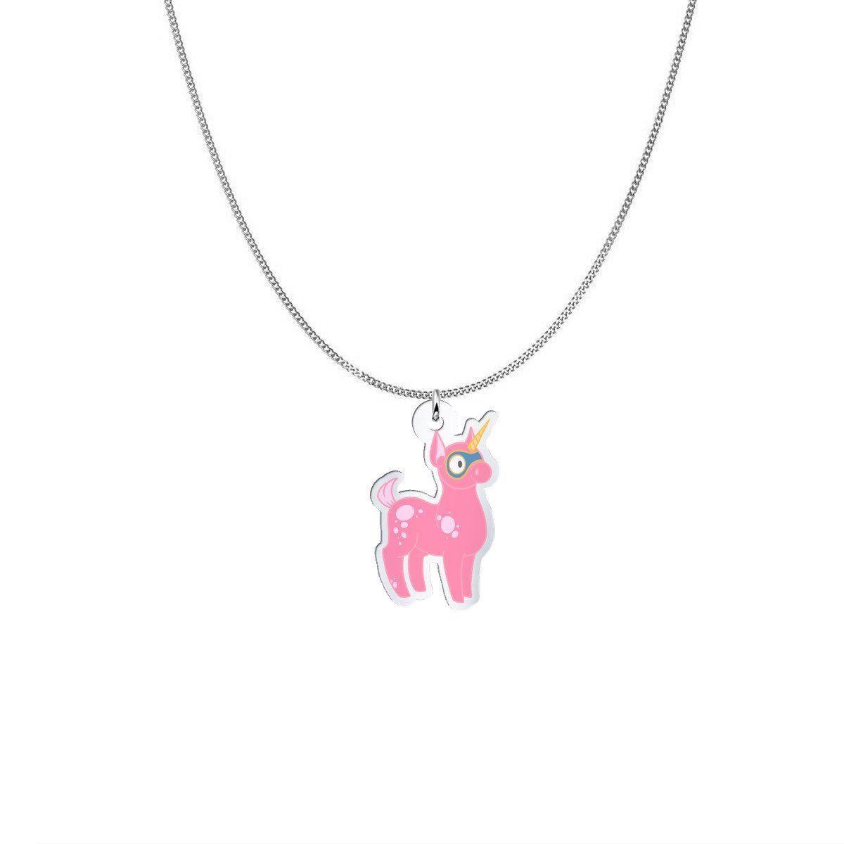 Pendant - Missy The Misdiagnosis Monster Silver Necklace