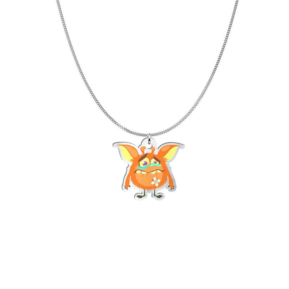 Pendant - Sonny The CRPS Monster Silver Necklace