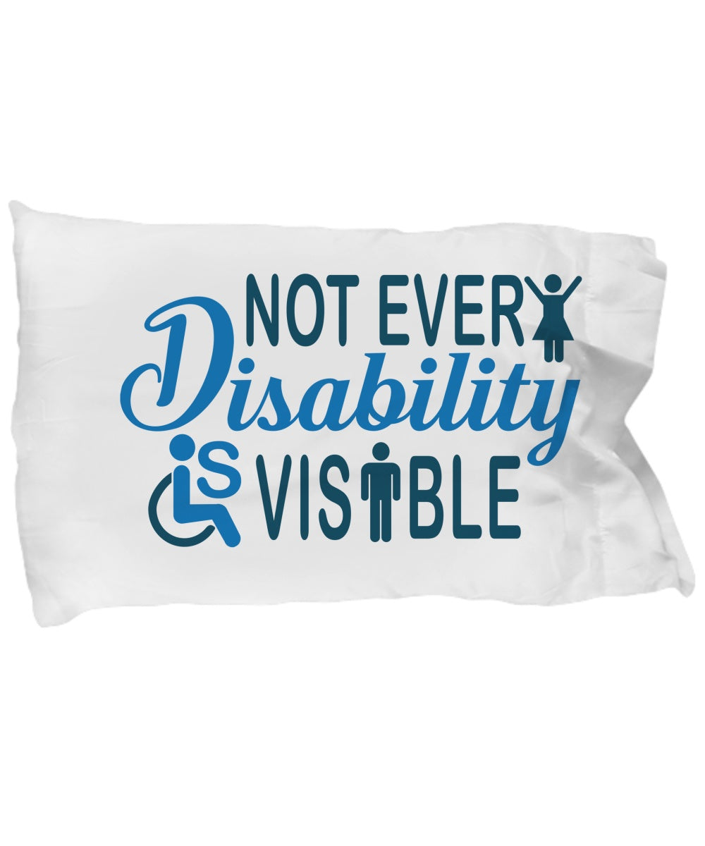 Invisible Disability Big PillowCase