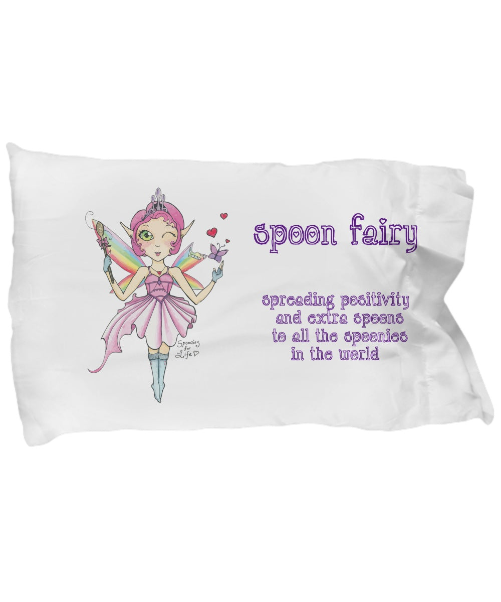 Pillow Case - Spoon Fairy Pillow Case Big