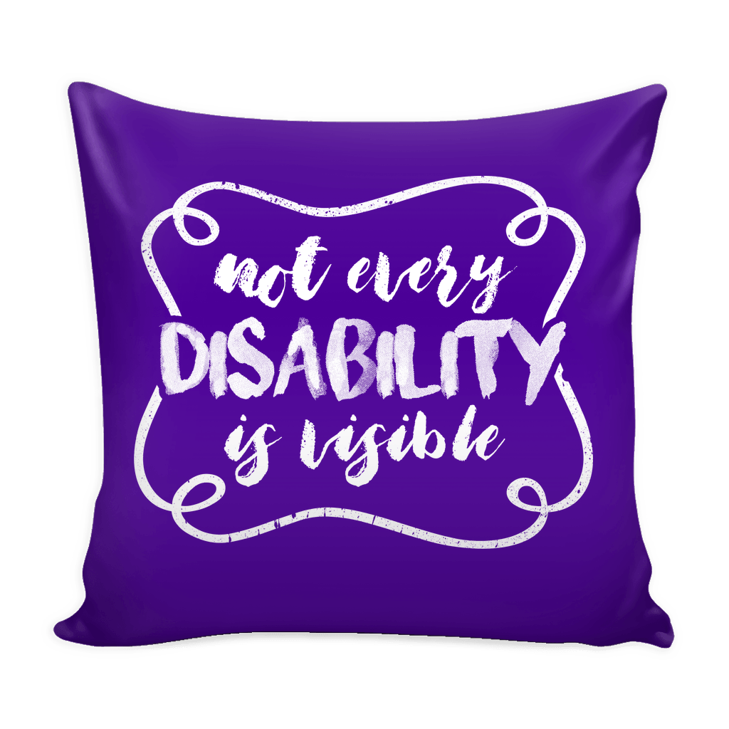 Pillows - Invisible Disability Pillowcase 16""