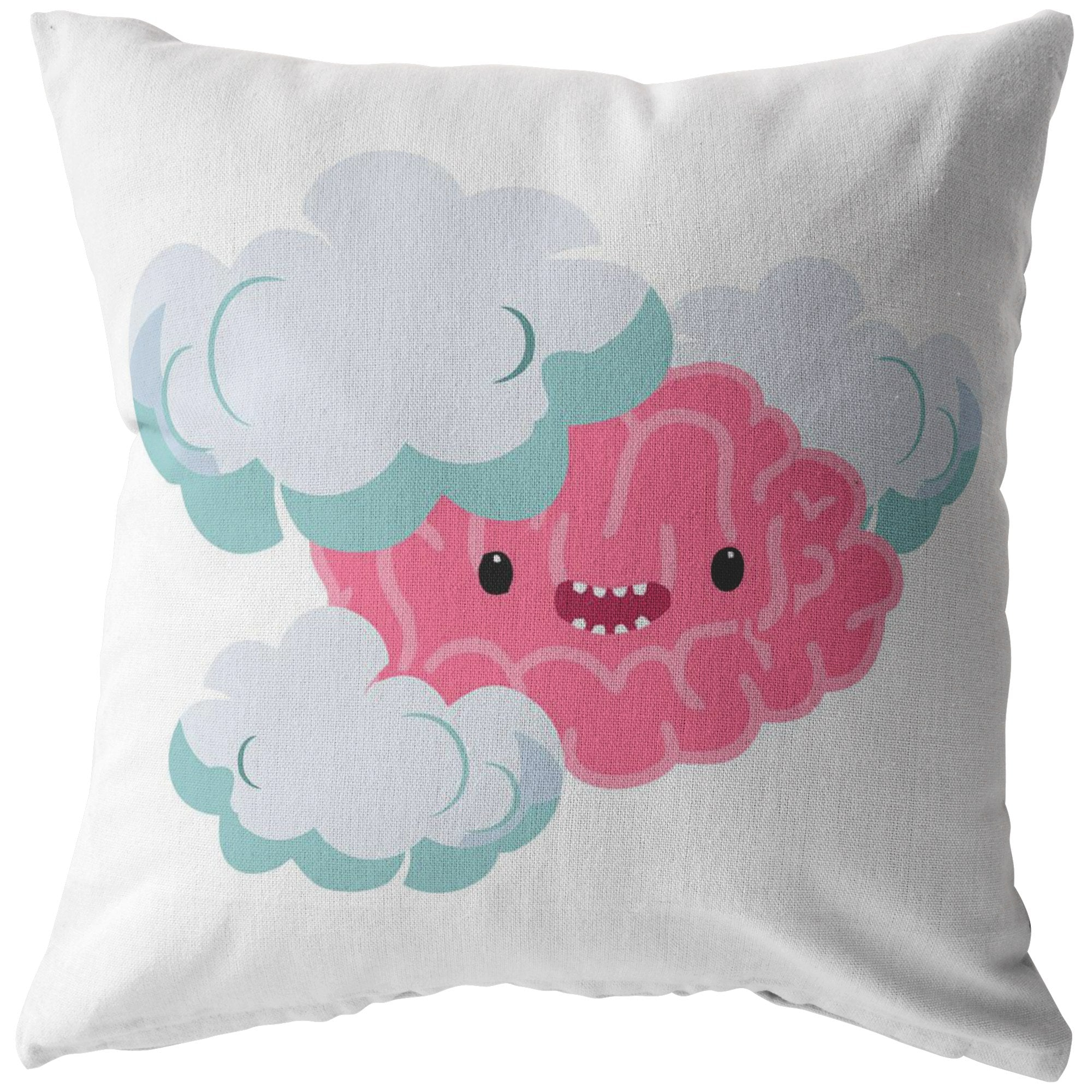 Brain Fog Monster Pillow