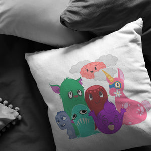 Chargimals Main Characters Pillow - The Unchargeables